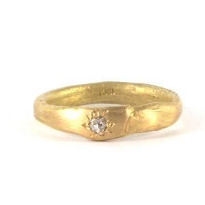 gold-and-diamond-organic-ring bridget kennedy