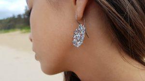bridget-kenned-big-melt-oxidised-silver-earring