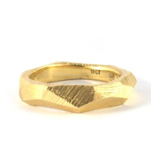 faceted-gold-ring bridget kennedy