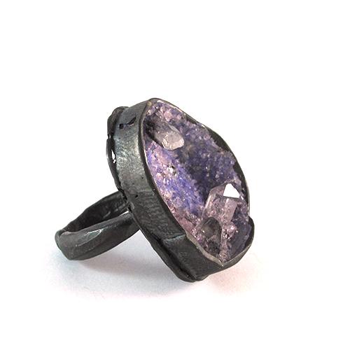 quartz amethyst ring bridget kennedy