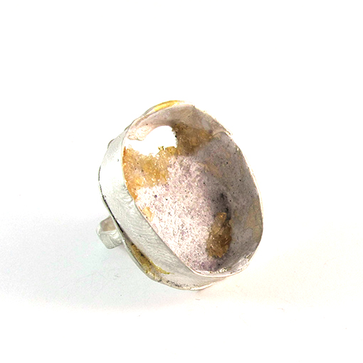 quartz gold silver ring bridget kennedy