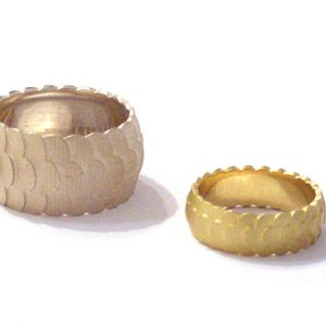 gold-and-white-gold-wedding-rings bridget kennedy
