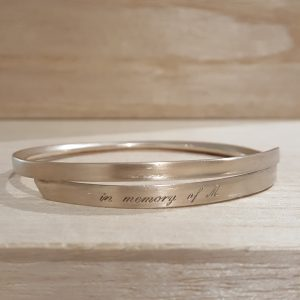 Original inspiration - a bangle that I had made earlier from inherited gold bridget kennedy