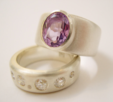 vintage-diamonds-amethyst-ring remodel-with-vintage-gemstones bridget kennedy