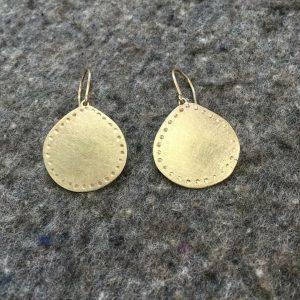 wendy medalions bridget kennedy earings gold