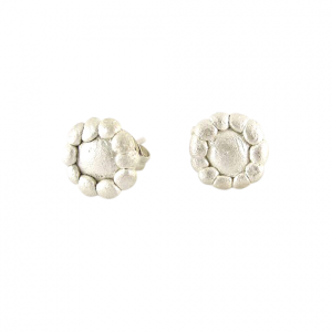 Bridget Kennedy Palawan Pebble silver studs