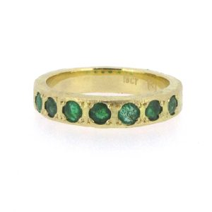 Bridget Kennedy Emeralds Recycled Gold