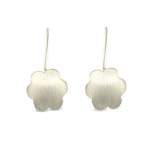 B-Kennedy-6-petal-silver-drop-earrings