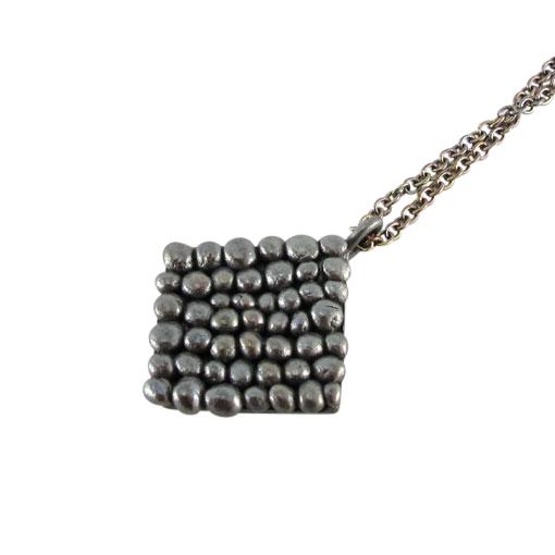 Bridget Kennedy Palawan Pebble blackened silver neckpiece