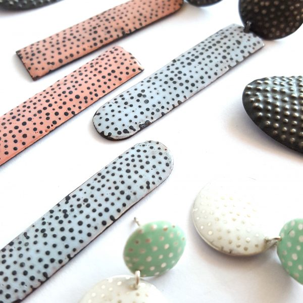 bridget-kennedy-going-dotty-coral-drop-earrings