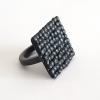 black-oxidised-silver-pebble-square-ring-side