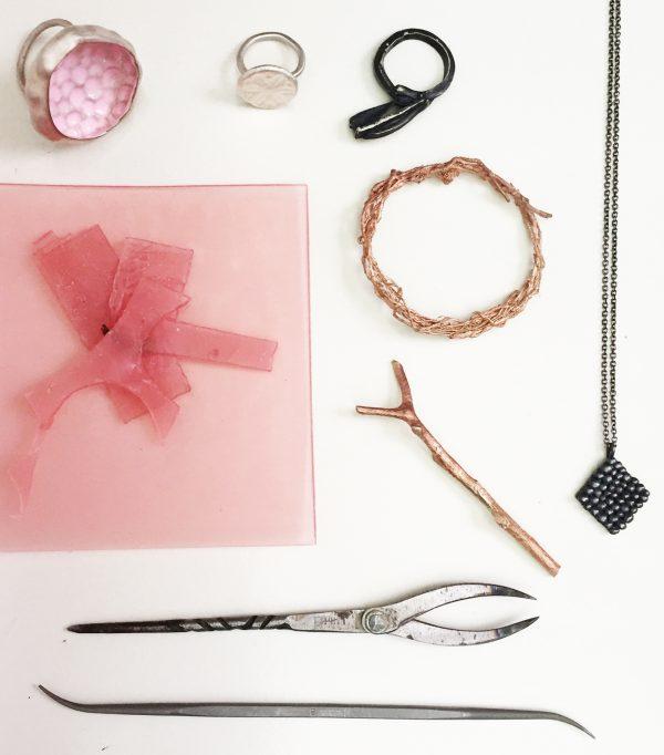 cast jewellery from wax workshop