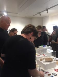 opening night art exhibition