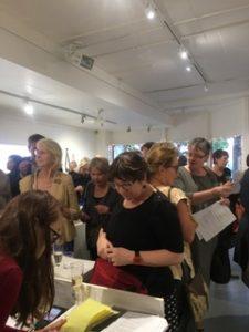 studio 20/17 projectspace gallery interior exhibition opening