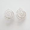 Anna Vlahos silver round drops