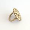 Palawan Pebble brass ring bridget kennedy