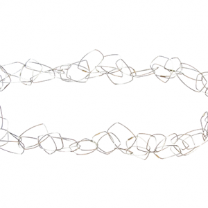 Szilvia Gyorgy Geometric Chain Necklace white web size