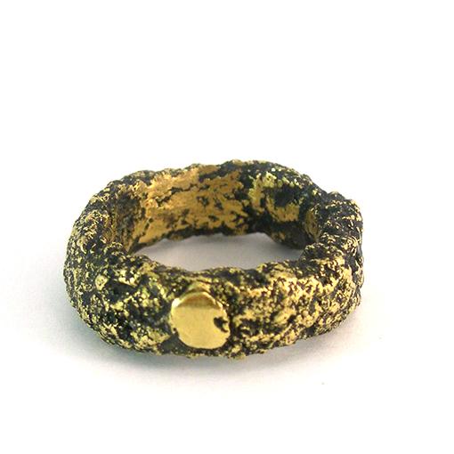 resin gold bread ring bridget kennedy studio 2017