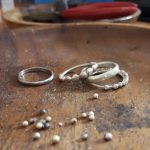 The start of the stack silver rinsg bridget kennedy