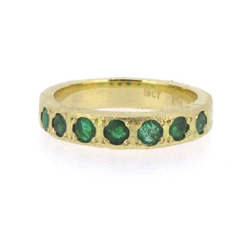 Bridget Kennedy Emeralds Recycled Gold