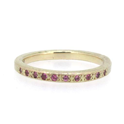 Bridget Kennedy Pink Sapphire Recycled Gold