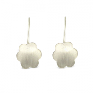 B-Kennedy-6-petal-silver-drop-earrings