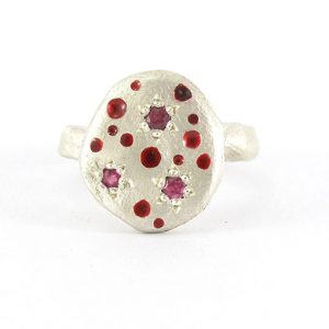 Bridget Kennedy Rajasthani Ruby Ring