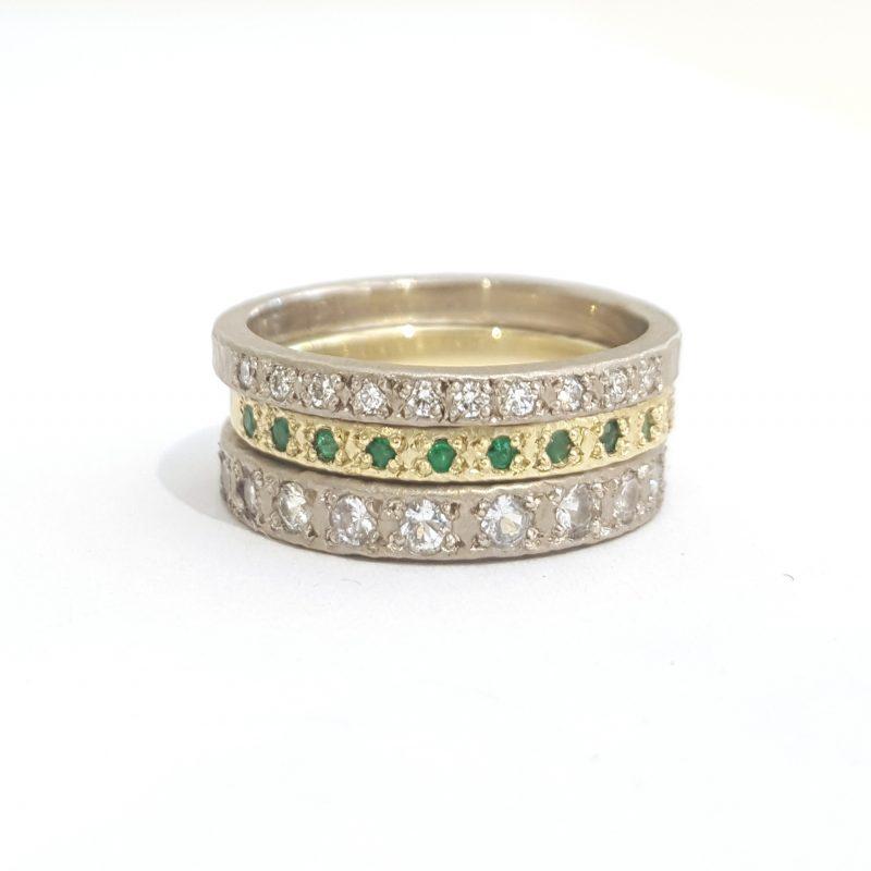 Bridget Kennedy Rings Diamonds Emeralds