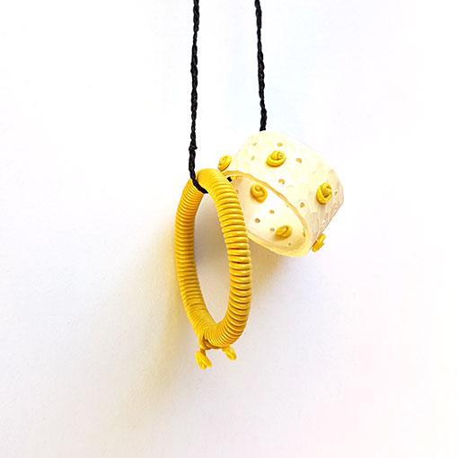 Penny Jagiello Yellow Neckpiece