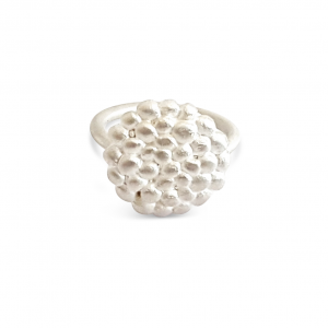Bridget Kennedy Palawan Pebbles medium silver ring