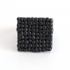 black-oxidised-silver-pebble-square-ring