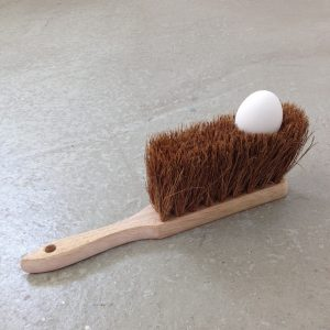 Shirley-cho-egg-on-brush-object