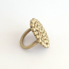 Palawan Pebble brass ring bridget kennedy