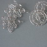 Anna Vlahos silver earrings