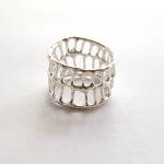 Anna Vlahos silver Ring