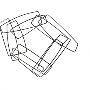 Szilvia Gyorgy Geometric Chain Bracelet Bold web size