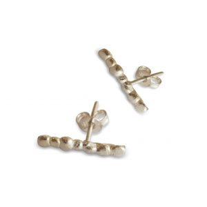 silver-pebble-stick-stud-earrings