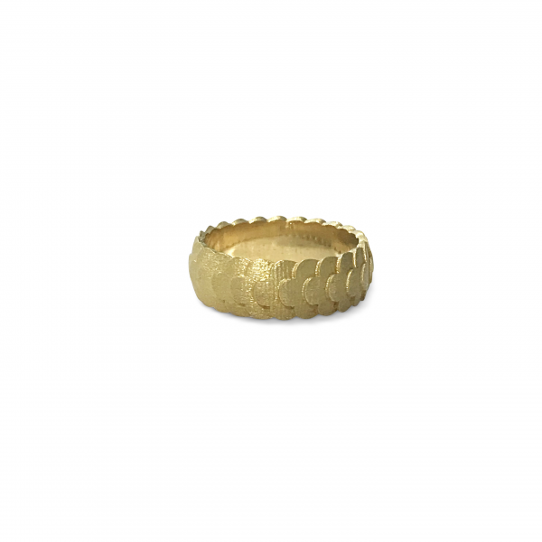 3d printed gold ring