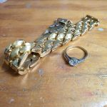 recycle unwanted gold for new contemporary jewellery