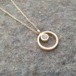 commission gold pendant