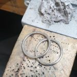 two rings - still needing a bit of polishing