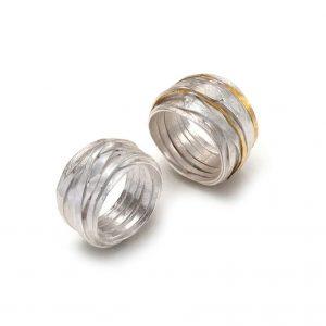 Shimara Carlow Wrap rings