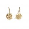9ct small pebble drop earrings
