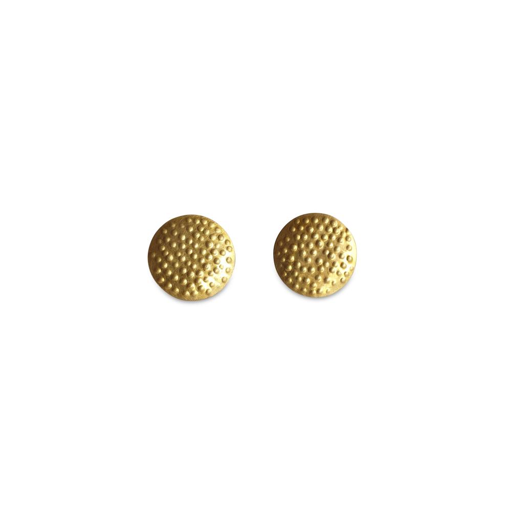 gold dotty studs