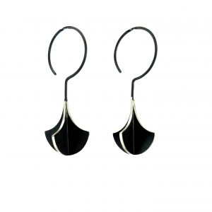 x-series chandelier silver earrings