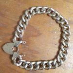 old unoved hollow gold bracelet