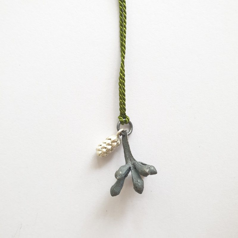 Melinda Young - Beach and Bush pendant (Norfolk Pine & Flowering gum bud)