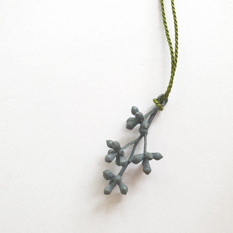 flowering gum buds pendant