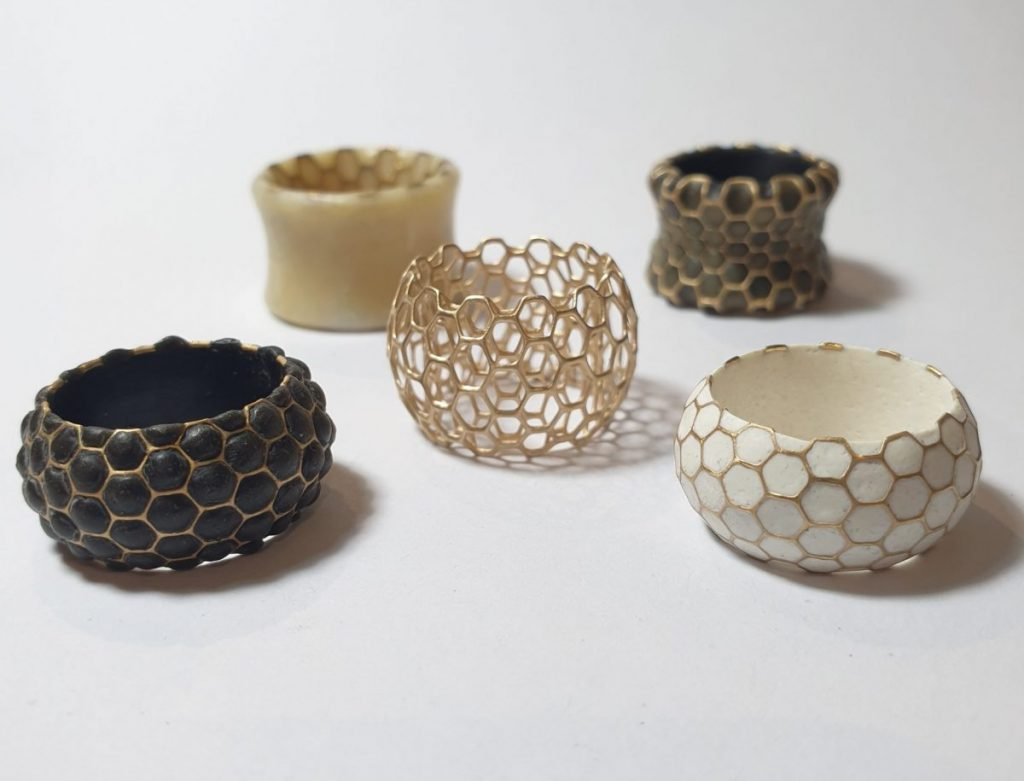 mde-worn-wax and gold rings