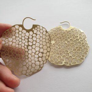 In memory of bees earrings